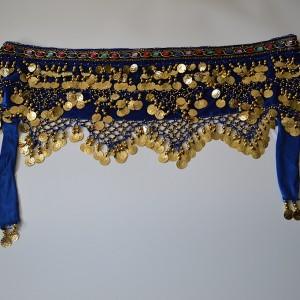 Пояса для восточных танцев с монистами