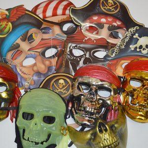 Маски для вечеринки пиратов