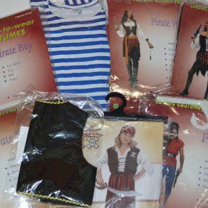 Костюмы,жилетки и тельняшки пиратов