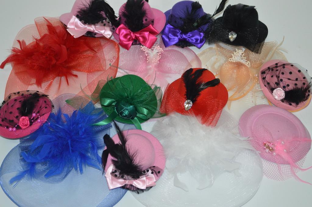 Шляпки и вуалетки для ковбойской вечеринки