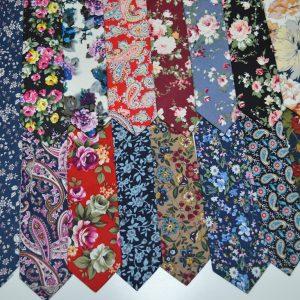 Оригинальные галстуки с яркими рисунками и узорами