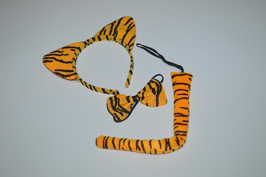 Уши тигра своими руками 74