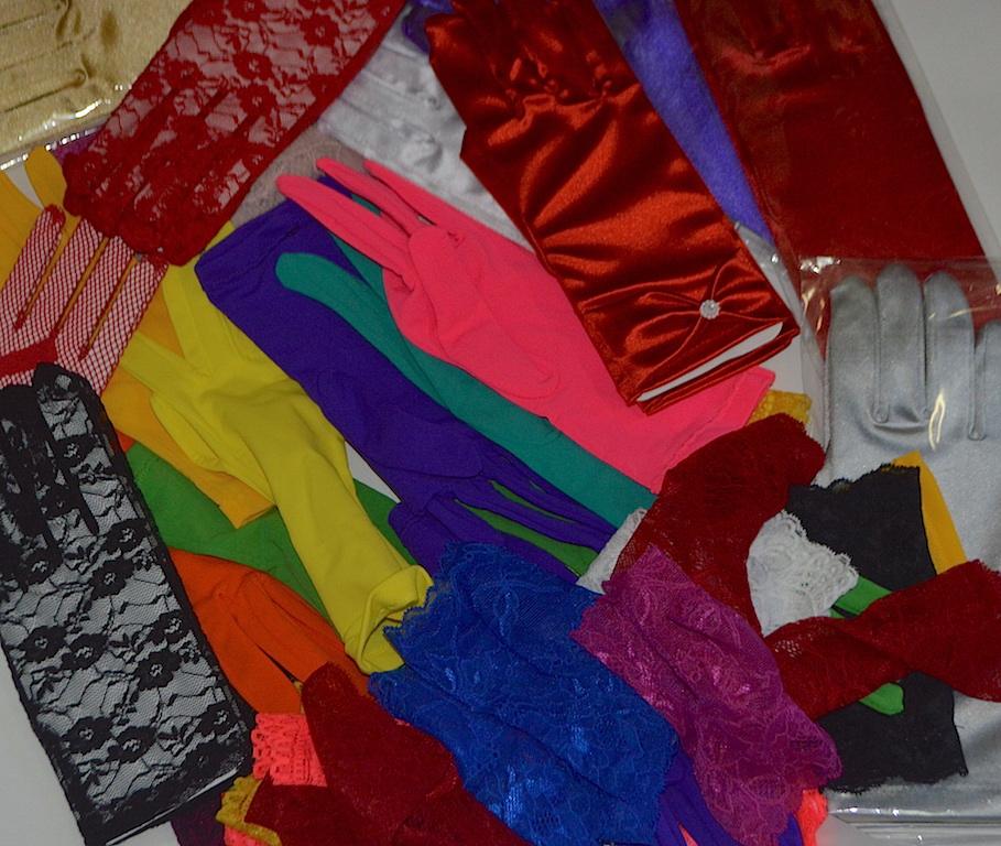 Перчатки для стиляжной вечеринки